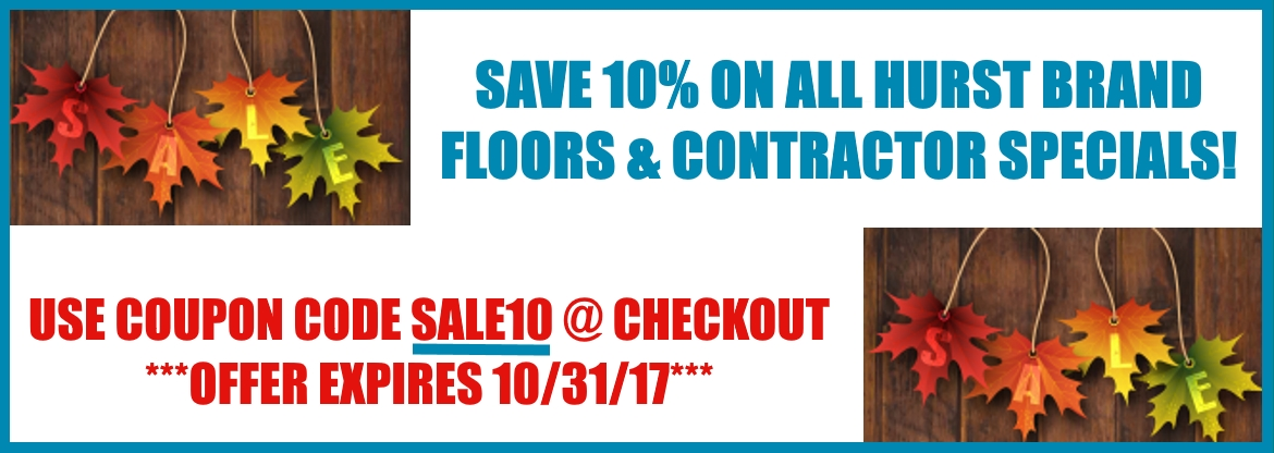 Fall sale wood flooring at cheap prices