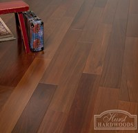"4"" Brazilian Walnut (Ipe) Unfinished Engineered Wood Flooring at Cheap Prices"