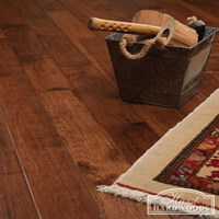 "4"" Hickory Hand Scraped Prefinished Solid Wood Flooring at Discount Prices"