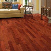Brazilian Cherry (Jatoba) Clear Grade Prefinished Solid Wood Flooring Specials at Cheap Prices