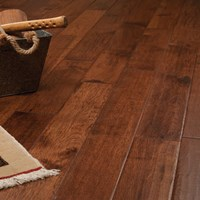 Hickory Hand Scraped Prefinished Solid Wood Flooring at Discount Prices