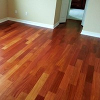 Santos Mahogany Unfinished Solid Wood Flooring at Discount Prices
