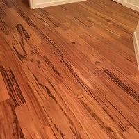 Tigerwood Clear Grade Prefinished Solid Wood Flooring Specials at Cheap Prices