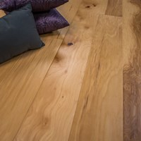 natural hickory handscraped prefinished engineered hardwood flooring by hurst hardwoods