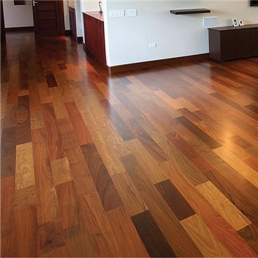 Brazilian Walnut (Ipe) Prefinished Solid Wood Flooring at Discount Prices
