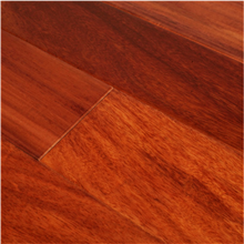 "5"" x 1/2"" Santos Mahogany Prefinished Engineered Budget Wood Flooring by Hurst Hardwoods"