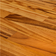 "5"" x 1/2"" Tigerwood Natural Prefinished Engineered Budget Wood Flooring by Hurst Hardwoods"