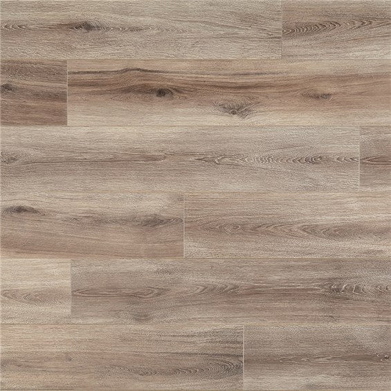Mannington Restoration Fairhaven Brushed Taupe Laminate Flooring