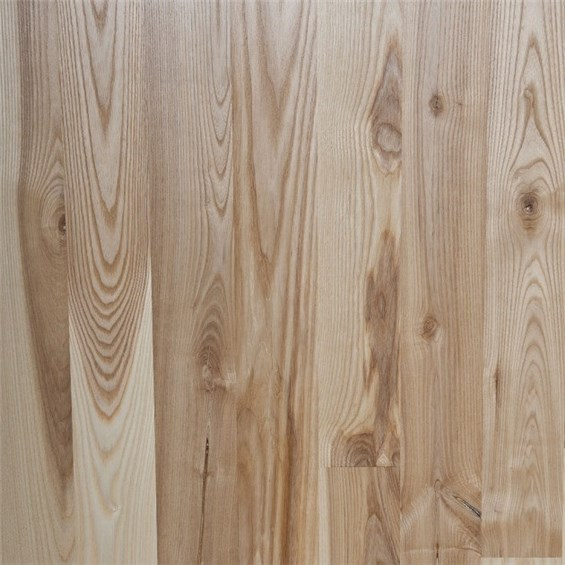 Ash Character Unfinished Solid Wood Flooring