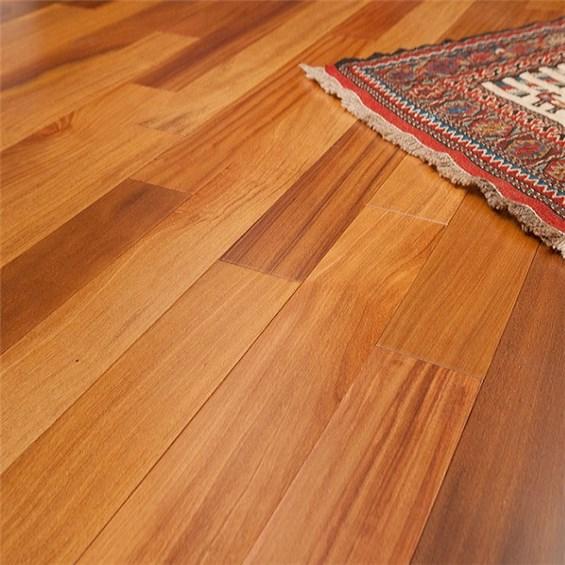 Discount 3 1 4 x 3 4 brazilian teak cumaru clear grade for Inexpensive hardwood flooring
