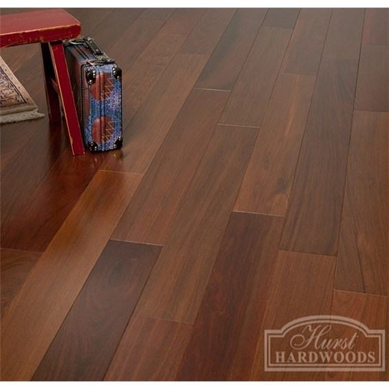 "5"" x 3/4"" Brazilian Walnut Clear Grade Unfinished Solid Wood Flooring"