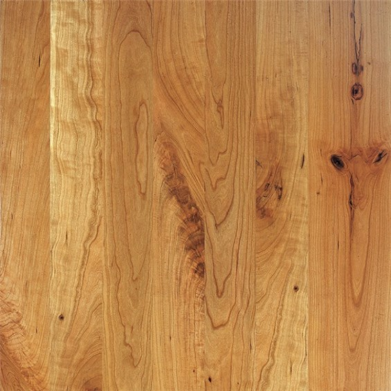 Cherry Character Unfinished Solid Wood Flooring
