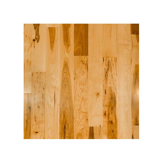 Hickory Rustic Unfinished Solid Wood Flooring