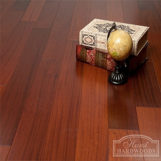 Sapele Premium Grade Unfinished Engineered Wood Flooring
