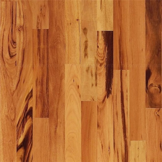 Tigerwood Select Grade Unfinished Solid Wood Flooring