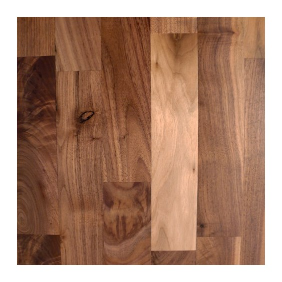 Walnut 2 Common Unfinished Solid Wood Flooring