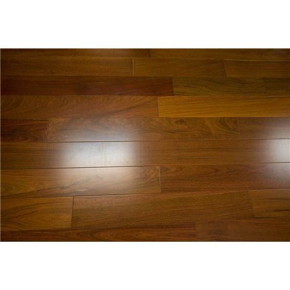"Solid Brazilian Walnut Hardwood Flooring: Discount 3 5/8"" X 3/4"" Brazilian Walnut Clear Prefinished"