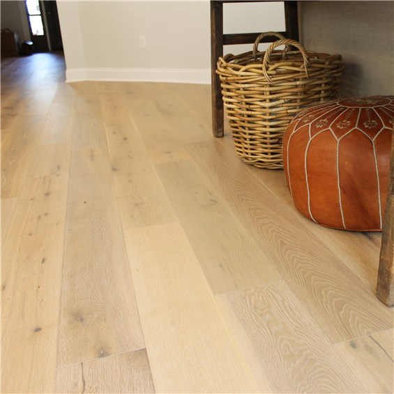 7 1 2 Quot X 1 2 Quot European French Oak Antique White Hurst