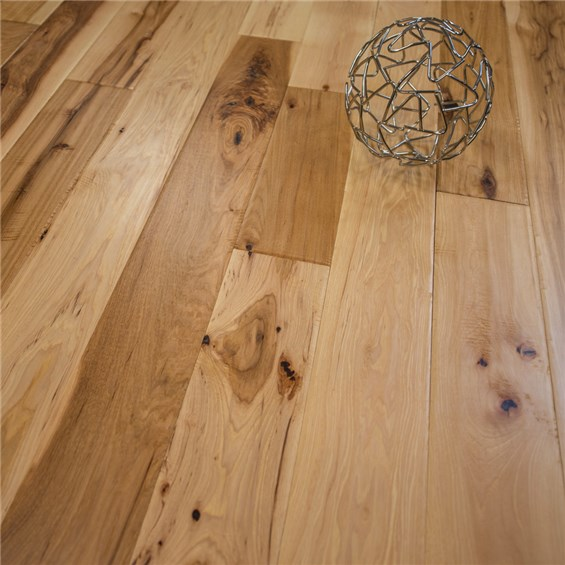 Natural Hand Sed Hickory Prefinished Solid Wood Floors