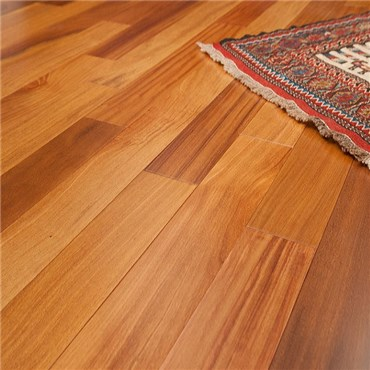 Discount 3 1 4 x 3 4 brazilian teak cumaru clear grade for Cheap solid wood flooring