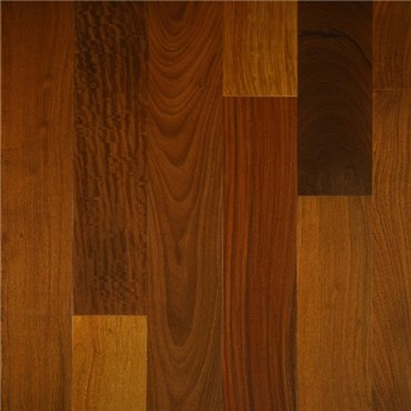 Brazilian Walnut (Ipe) Select Grade Unfinished Solid Wood Flooring