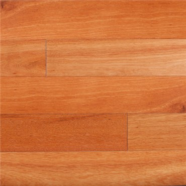 Carolina Mountain Hardwood Exotic 3 5/8u0026quot; Solid Kempas Natural Wood  Flooring