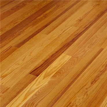 Caribbean Heart Pine Clear Grade Unfinished Solid Wood Flooring