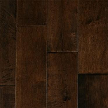 Discount Garrison Ii Distressed 5 Maple Espresso Hardwood Flooring