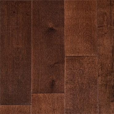 Discount Garrison Ii Smooth 5 Maple Espresso Hardwood Flooring