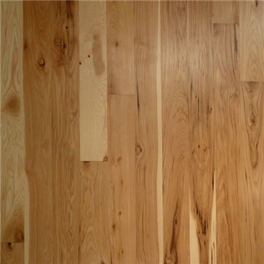 Hickory 1 Common Unfinished Solid Wood Flooring