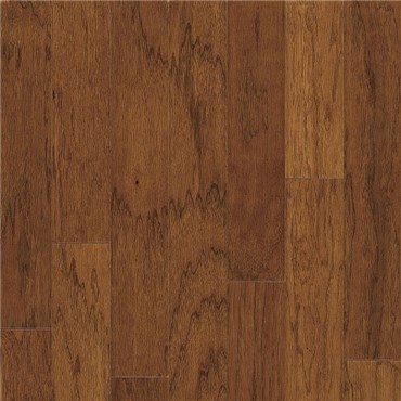 Hickory Character Saddle Prefinished Solid Wood Flooring