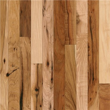 Hickory Rustic Natural Prefinished Solid Wood Flooring