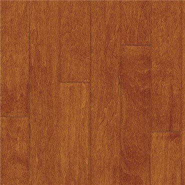 "5"" x 1/2"" Maple Prefinished Engineered Cinnamon Wood Flooring"