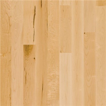 Maple 1 Common Unfinished Solid Wood Flooring