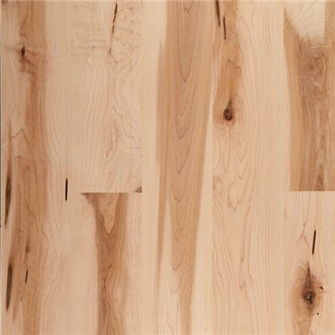 Maple Character Natural Prefinished Solid Wood Flooring