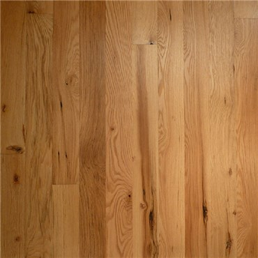 Red Oak Character Unfinished Engineered Wood Flooring