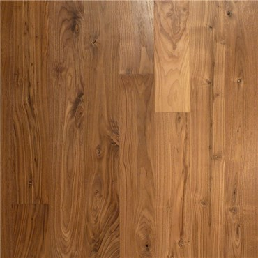 Walnut Character Unfinished Solid Wood Flooring