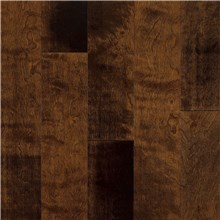 "Armstrong Artesian Classics Color Washed 5"" Birch Chocolate Malt Wood Flooring"