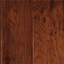 "LM Gevaldo 5"" Engineered Tobacco Hand Scraped Wood Flooring"