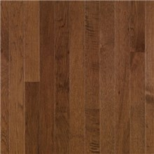 "Bruce American Treasures Strip 2 1/4"" Hickory Plymouth Brown Wood Flooring"
