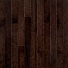 "Bruce American Treasures Strip 2 1/4"" Hickory Frontier Shadow Wood Flooring"