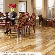 "Somerset Character Collection Plank 3 1/4"" Solid Hickory Wood Flooring"