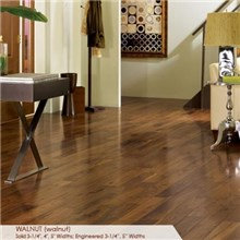 "Somerset Character Collection Plank 3 1/4"" Solid Walnut Wood Flooring"