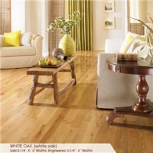 "Somerset Character Collection Plank 3 1/4"" Solid White Oak Wood Flooring"