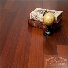"5"" x 1/2"" Sapele Prefinished Engineered Wood Flooring"