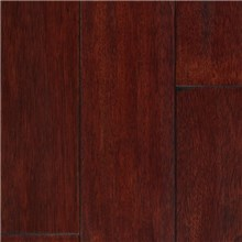 "IndusParquet 5"" x 1/2"" Engineered Hand Scraped Brazilian Cherry Rouge French Bleed Wood Flooring"