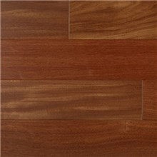 "IndusParquet 3 1/4"" x 3/8"" Engineered Santos Mahogany Wood Flooring"