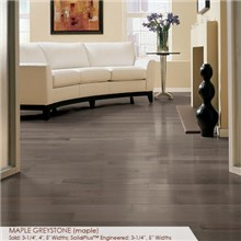 "Somerset Specialty Collection 4"" Solid Maple Greystone Wood Flooring"