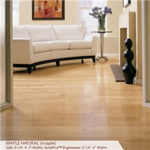 "Somerset Specialty Collection 4"" Solid Maple Natural Wood Flooring"
