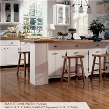 "Somerset Specialty Collection 4"" Solid  Maple Tumbleweed Wood Flooring"